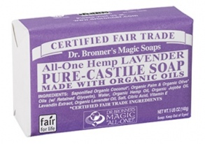 Dr. Bronner's Magic - barsoaps lavander - 140 g