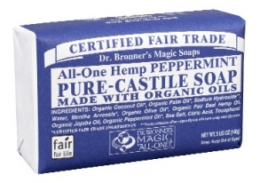 Dr. Bronner's Magic - barsoaps peppermint - 140 g