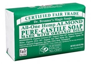 Dr. Bronner's Magic - barsoaps Almond - 140 g