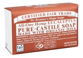 Dr. Bronner's Magic - barsoaps Eucalyptus - 140 g