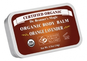 Illustration body balm orange lavender - 14 g