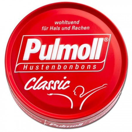 Illustration Pulmoll Pastilles Classic Rouge 75 gr