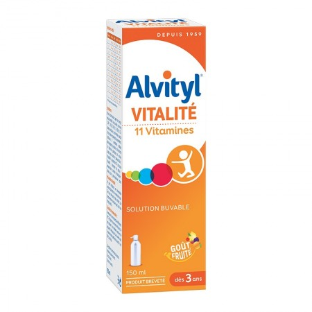 Urgo - alvityl solution multivitaminee 150ml