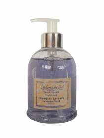 Illustration Savon liquide 300 ml Champ de Lavande
