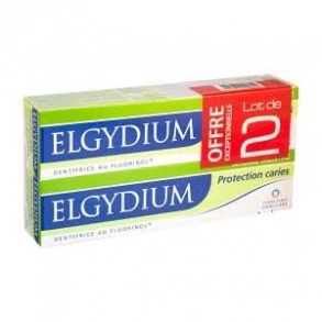 Elgydium - Elgydium Protection caries Lot de 2x75ml