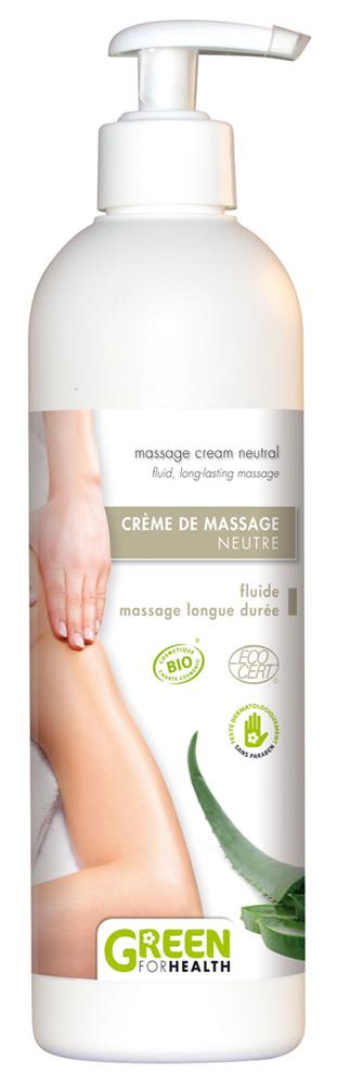 Illustration Crème de Massage Neutre Bio 500 ml