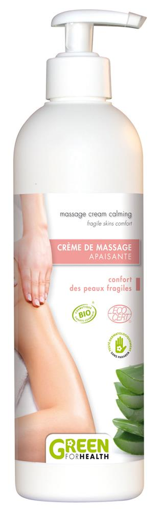 Illustration Crème de Massage Apaisante Bio 500 ml