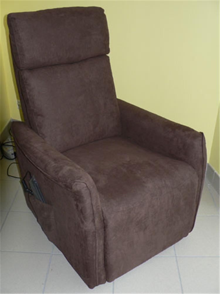 Dupont Medical - Fauteuil Releveur Softy Couleur Chocolat