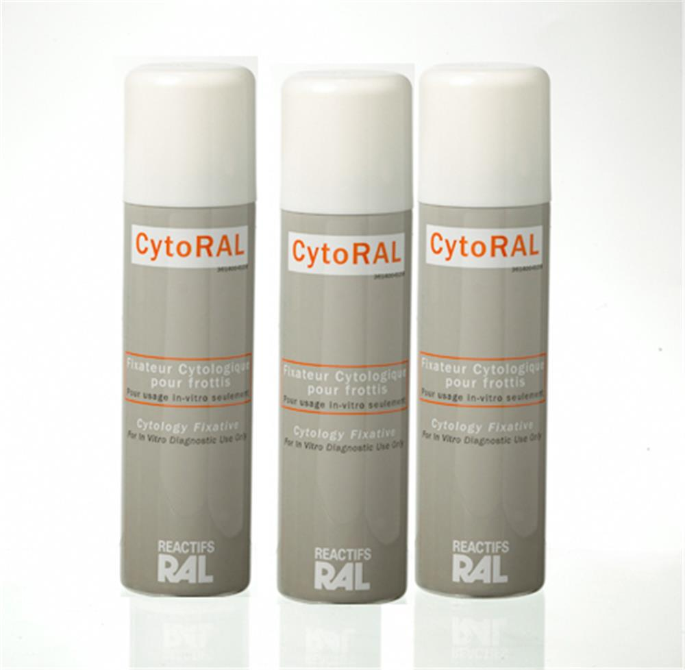 Illustration Fixateur Aérosol Cytologique 75ml Cytoral.