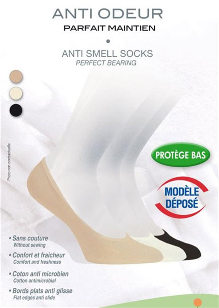 Innov'Activ - Protège Pieds Anti-Odeur Taille 35/37