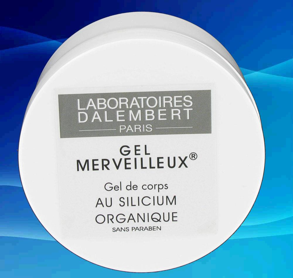 Illustration Gel Merveilleux Corps 200ml au Silice Organique