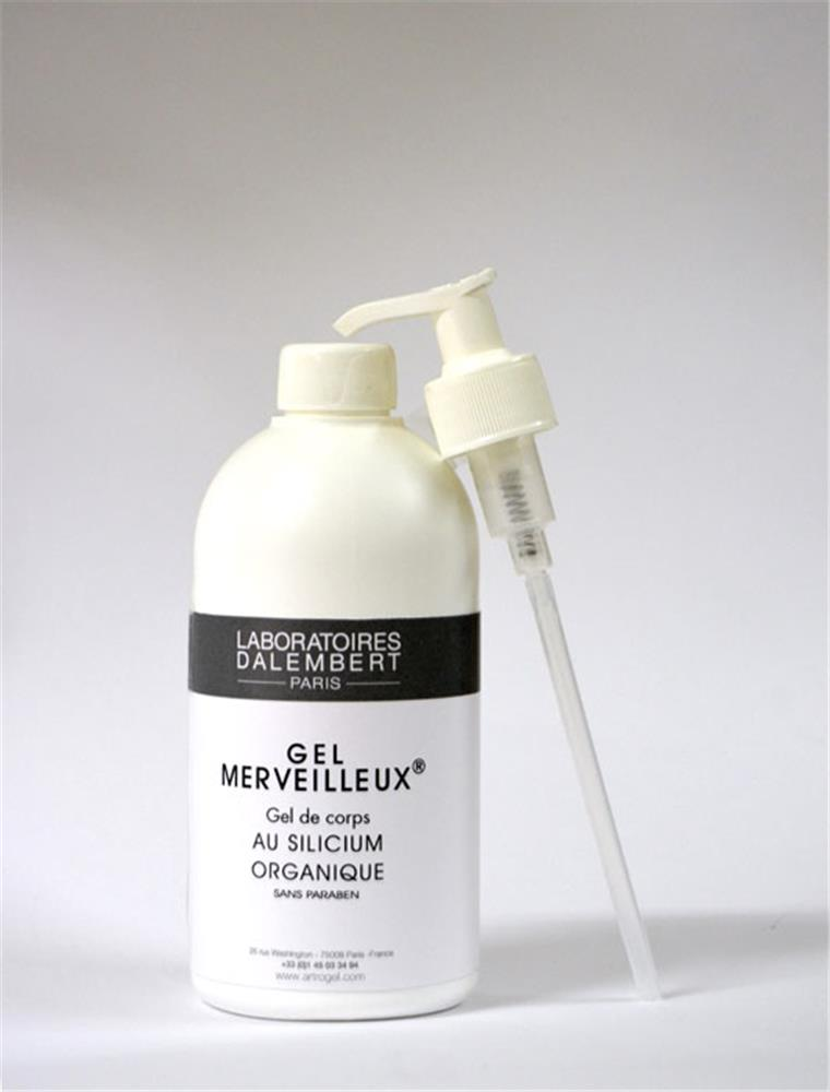 Illustration Gel Merveilleux Corps 500ml au Silice Organique