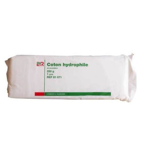 Illustration Coton Hydrophile en accordéon 250 g