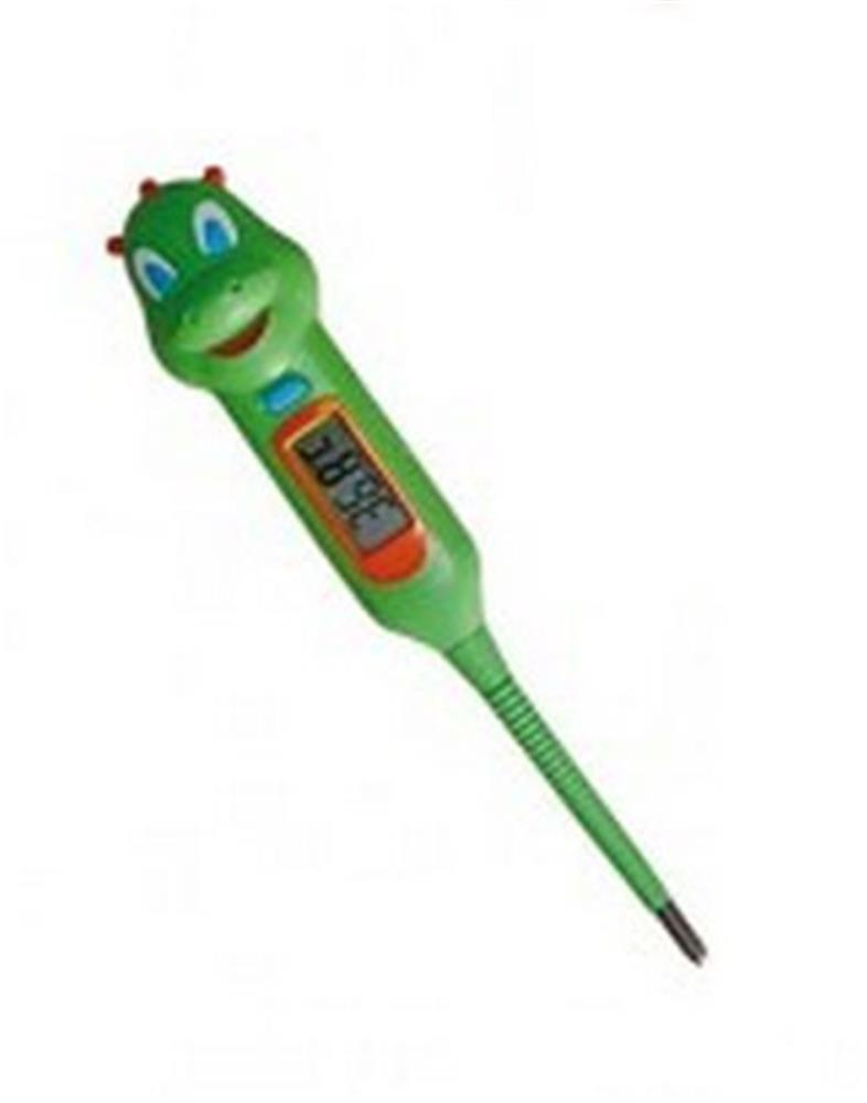 LBS Médical - Thermomètre Junior DINOSAURE VERT