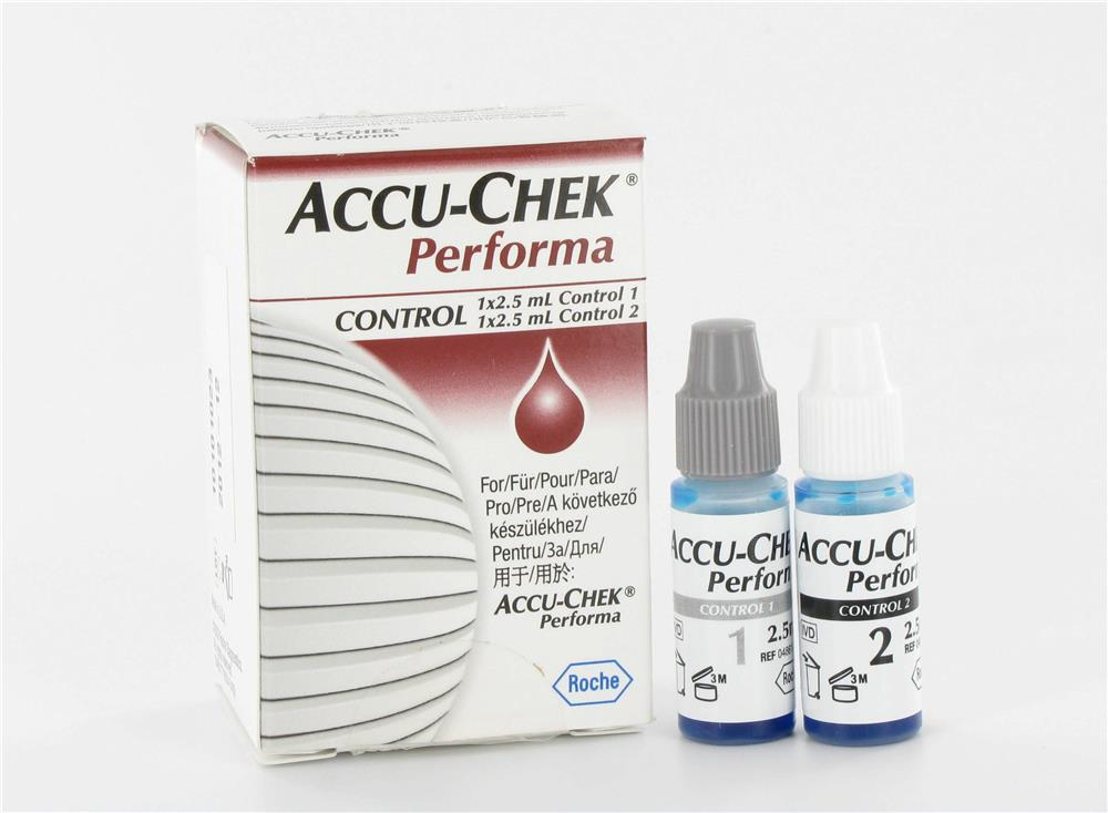Roche - Solution Controle Accu Chek Performa