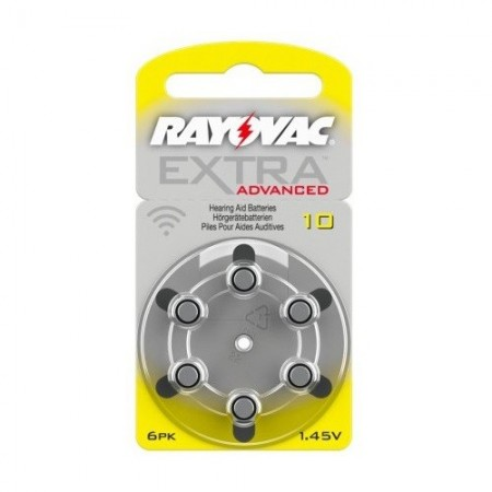 Rayovac France - piles auditives Rayovac 10 extra advanced