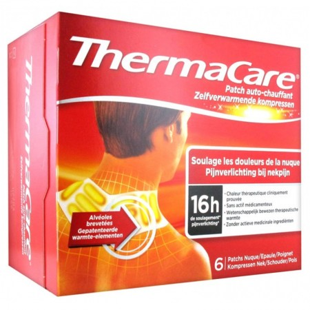 ThermaCare - Thermacare Patch Auto-Chauffant - Nuque, Epaule, Poignet 6 Patchs