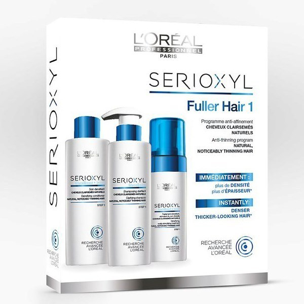 Illustration Serioxyl Fuller Hair Kit N°1
