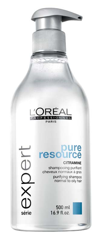 Illustration SHAMPOOING PURIFIANT PURE RESSOURCE L'OREAL  500ML