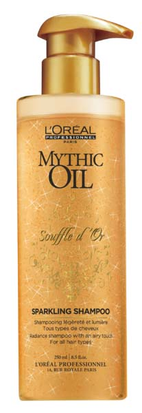 Illustration L'Oreal Mythic Oil Souffle d'Or Sparkling Shampooing 750ml