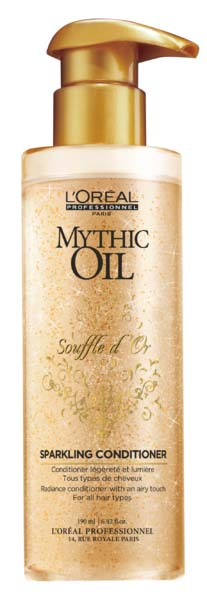 Illustration L'Oreal Mythic Oil Souffle d'Or Sparkling Conditioner 750ml