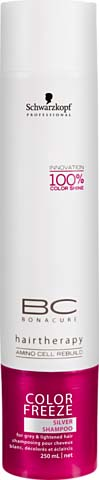 Illustration Schwarzkopf BC Color Freeze shampooing silver 250ml