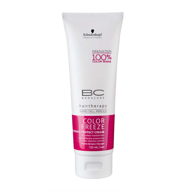 Illustration Schwarzkopf BC Color Freeze Thermo Protect Cream 125ml