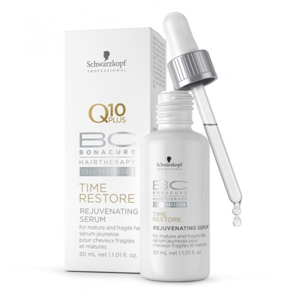 Illustration Schwarzkopf BC Time Restore Q10 Sérum Jeunesse 30ml