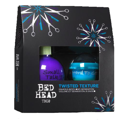 Illustration BED HEAD COFFRET Twisted Texture