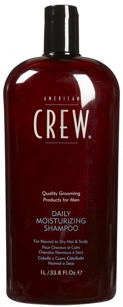 Illustration American Crew Daily Moisturizing Shampoo 1L (Normaux / Secs)