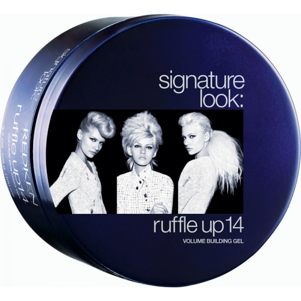 Illustration Redken Signature Look Ruffle Up 14
