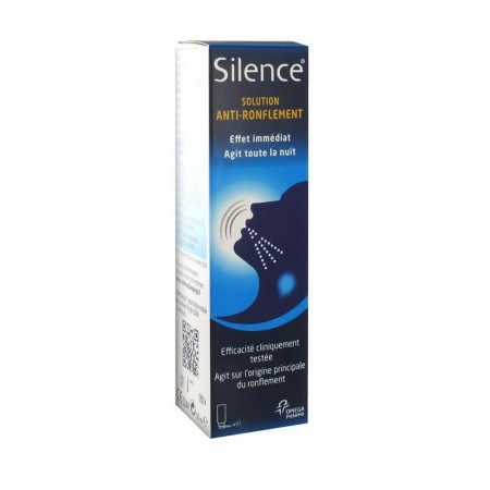 Illustration Spray Silence Anti-Ronflement Total 50 ml