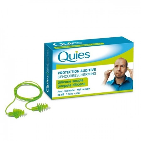Quies - Protection Auditive QUIES avec Cordelette