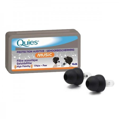 Quies - Quies Music -15dB - Protection Auditive Filtres Acoustiques