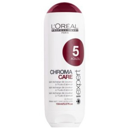 Illustration CHROMA CARE - ACAJOU 5 -  L'OREAL 150ML
