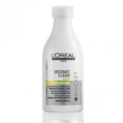 Illustration SHAMPOOING ANTI-PELLICULAIRE INSTANT CLEAR L'OREAL 250ML