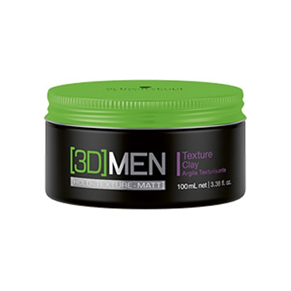 Illustration ARGILE TEXTURE CLAY 3D MEN  DE SCHWARZKOPF 100ML