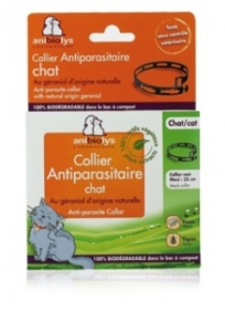 Illustration Anibiolys - collier antiparasitaire - chat