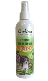 Illustration Verlina - lotion insectifuge chien