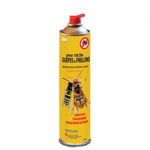 HBM Distribution - Spray Tir 5 M Guêpes & Frelons - 750ML