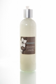 Illustration Shampoing Naturel Jojoba Frangipanier