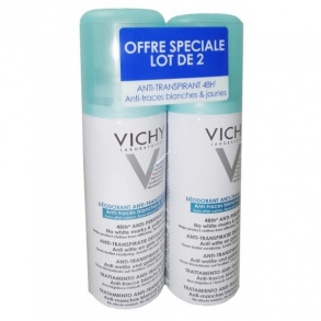 vichy deodorant anti transpirant 48h spray 125 ml lot de 2 de vichy laboratoires sur. Black Bedroom Furniture Sets. Home Design Ideas