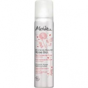 Illustration Melvita Brume de Beauté rose bio 50 ml