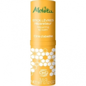 Illustration Melvita Stick levres cire d'abeille 3.5g