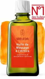 Illustration Weleda huile de massage à l'arnica 100ml
