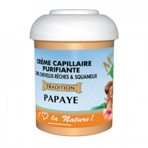Miss antilles international - Crème capillaire papaye 125ml