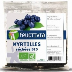 Illustration Myrtilles séchees bio 100g