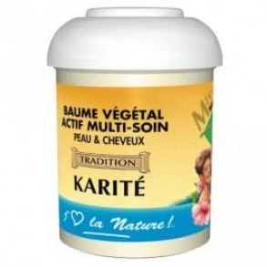 Miss antilles international - BAUME VÉGÉTAL KARITÉ 125ML