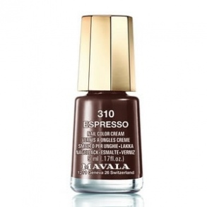 Illustration Mavala - vernis espresso