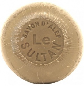Illustration Savonnette d'Alep 12% Ronde 100g